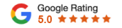 5 Star Google Ratign