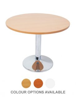 Chrome-Base-Round-Meeting-Table