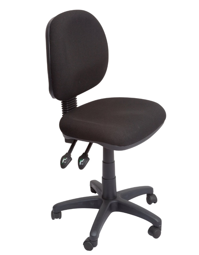 VIEW MEDIUM BACK ERGONOMIC OFFICE CHAIR (3 lever)