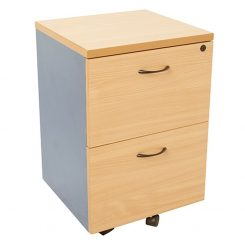 Epic Worker 2 Drawer Mobile Pedestal