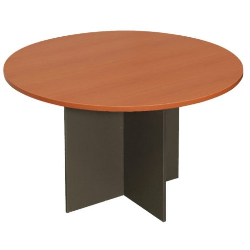 Epic Worker Round Meeting Table Cherry