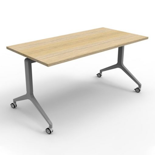 Flip Top Table Natural Oak