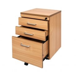 Rapid Span 3 Drawer Mobile Pedestal