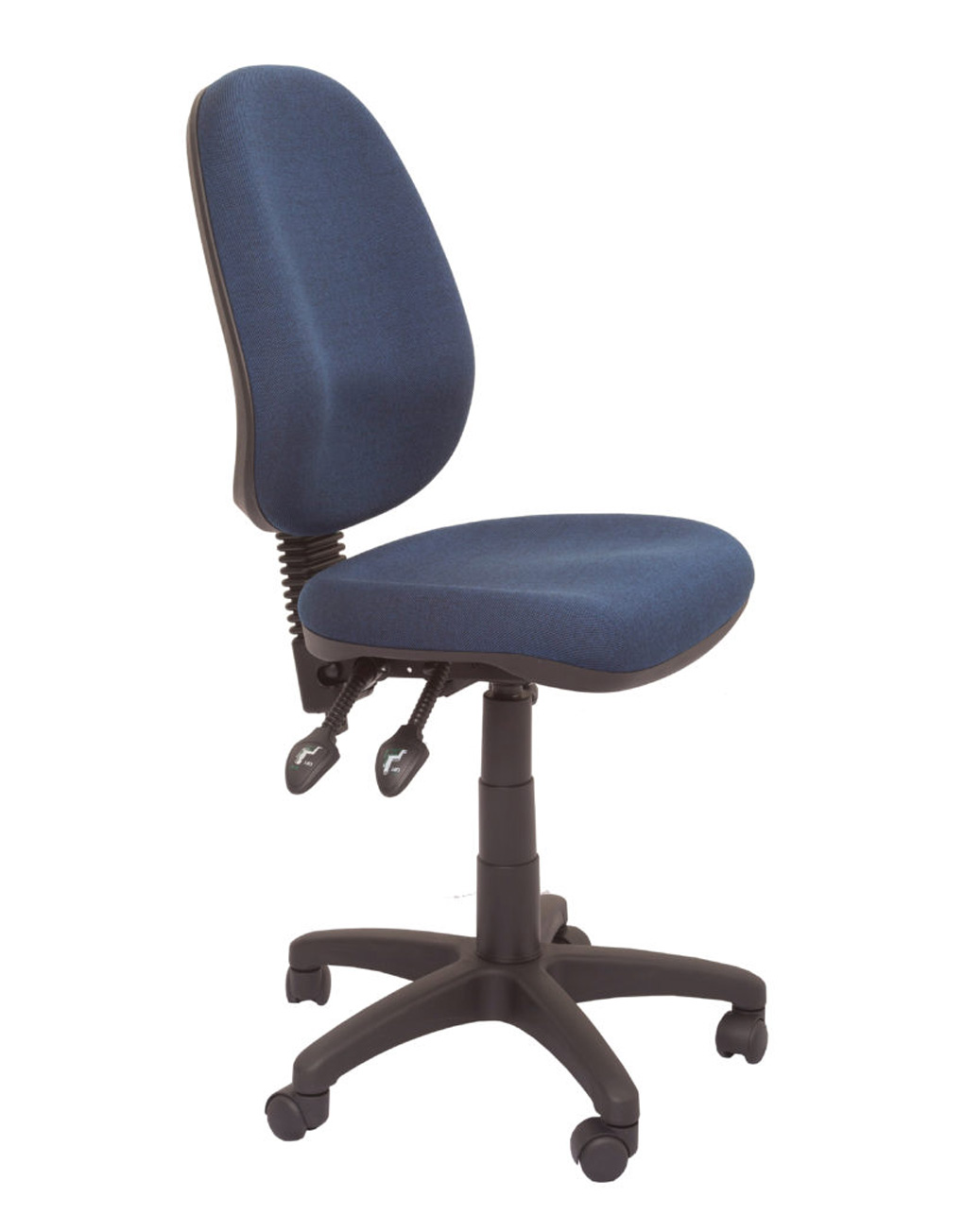 VIEW HIGH BACK ERGONOMIC OFFICE CHAIR (3 lever) Black Office Chair Back View
