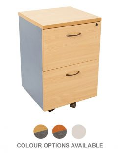 Worker Pedestal 2 Drawer