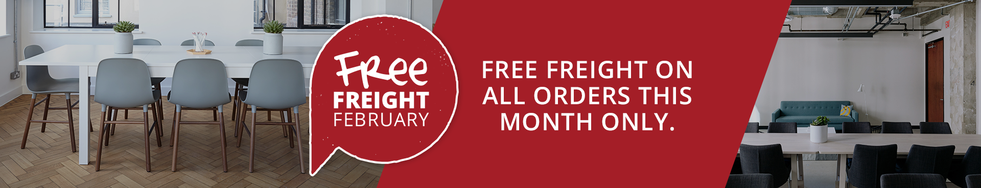 Free Freight February
