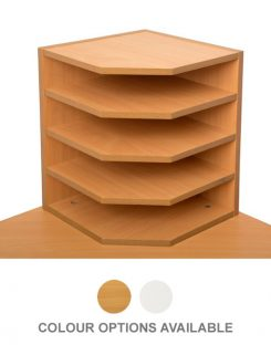 2 way paper holder beech