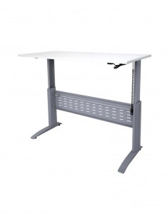 SE-187 SW - Span Electric Straight Desk(Raised to Full Height)