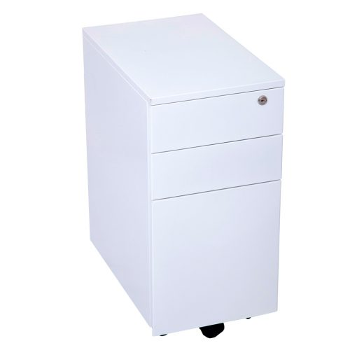 Slimline 3 Drawer Mobile Pedestal