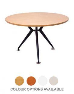Round Table - Black Steel Base