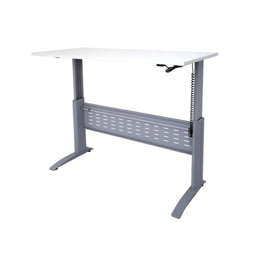 SE Height Adjustable White Silver