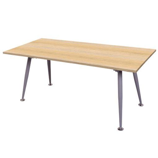 Span meeting table natural oak