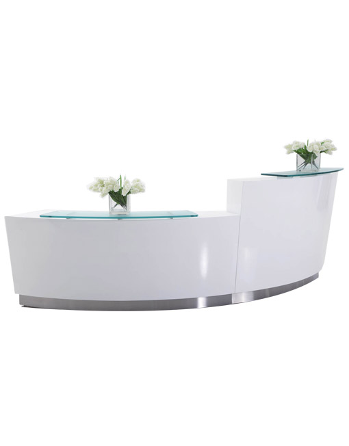 Evo Curved Reception Desk