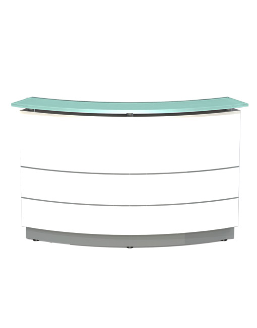 Polaris Curved Reception Counter