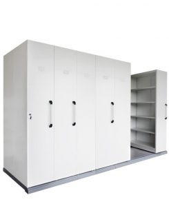 COMPACTUS MOBILE SHELVING 6 BAYS - 2150H x 1280W
