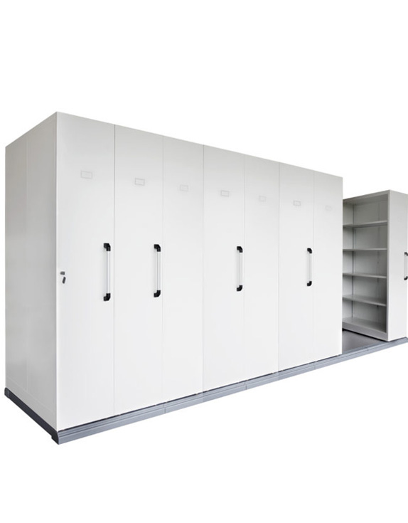 COMPACTUS MOBILE SHELVING 8 BAYS - 2150H x 980W