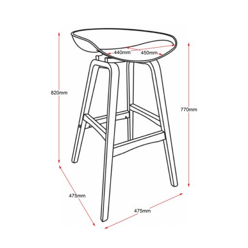 Virgo Stool LD