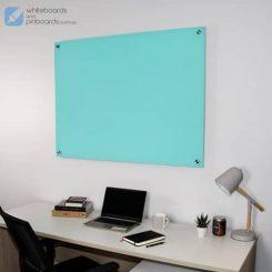 Frameless Colour Glass Whiteboard