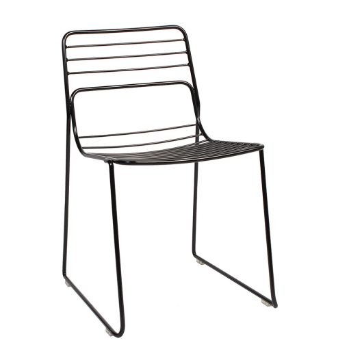 Cage chair black