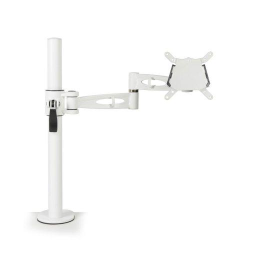 Kardo Single Monitor Arm White