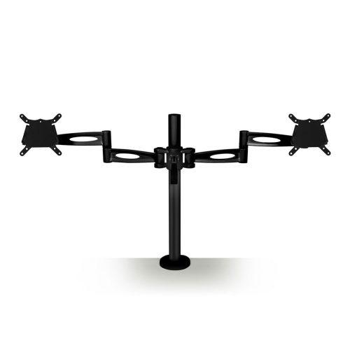 Kardo Double Monitor Arm Black