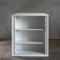 Signature Steel Tambour Cupboard