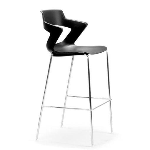 Zen Chrome 4-leg stool