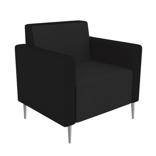 Koosh Lounge single black