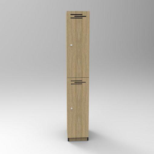 2 Door Natural Oak 2