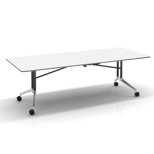 Edge table white