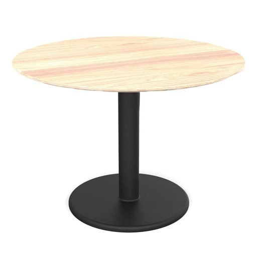 Motion-Round-Table-Sit-Height---Beech