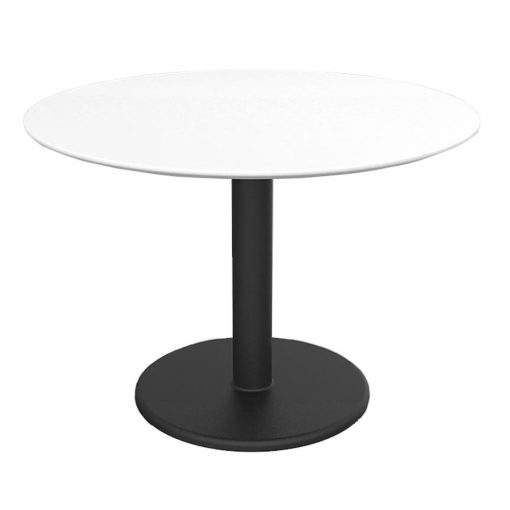 Motion-Round-Table-Sit-Height---White