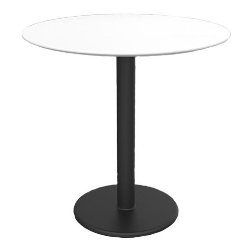 Motion-Round-Table-Stand-Height---Whtie