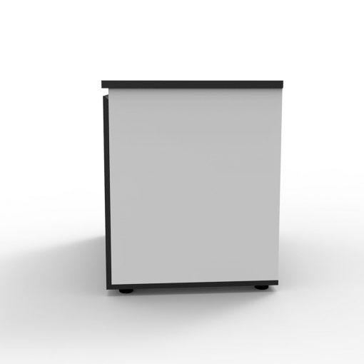 Deluxe Rapid Infinity Swing Door Cupboard 2 Shelves White 2