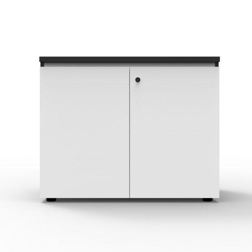 Deluxe Rapid Infinity Swing Door Cupboard 2 Shelves White
