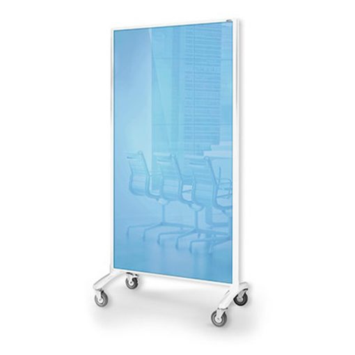 Communication Glassboard Room Divider 2