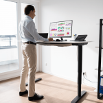 how tall should standing desk be cover image