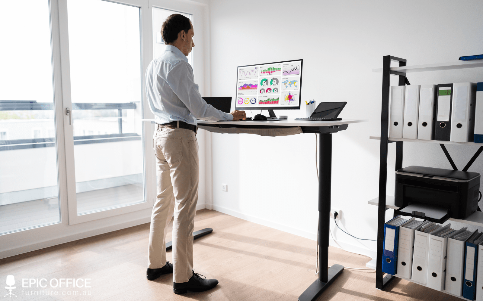 How Tall Should a Standing Desk Be?