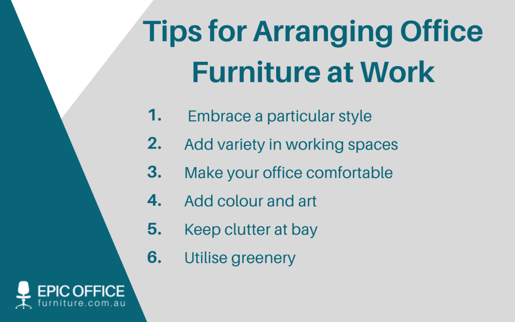 How to Arrange Office Furniture at Work