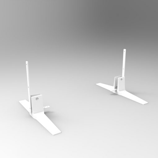 SHUSH30 freestanding feet - white