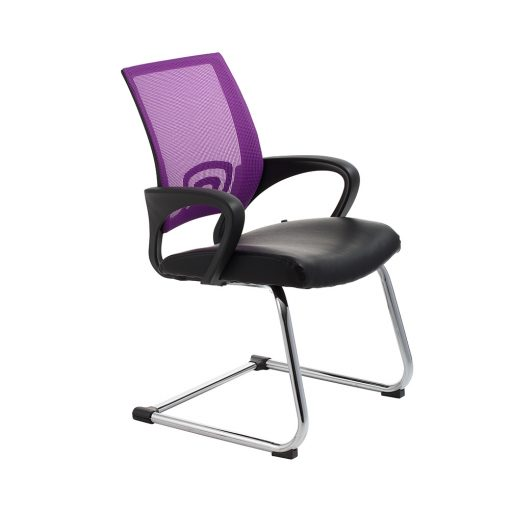 Vision Cantilever Chair PURPLE