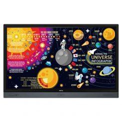 "BenQ RP Series 65"" Interactive Flat Panel"