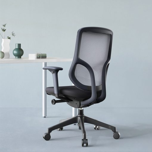 Chic Mesh Office Chair black home